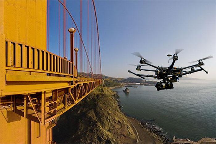 inspekcja mostow z drona